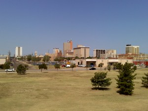 This is a photo of downtown Lubbock, Texas.
